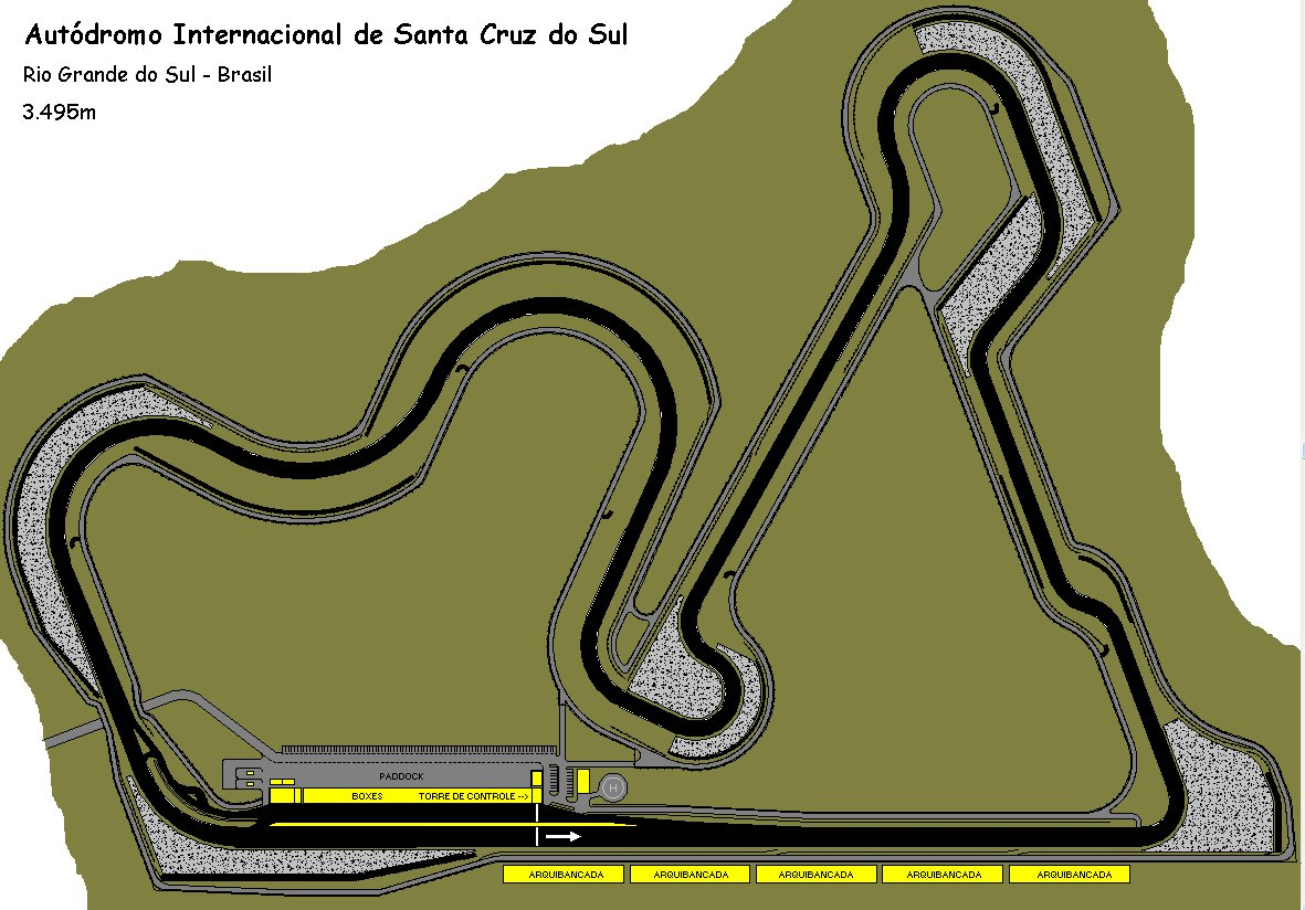 Autódromo Internacional de Santa Cruz do Sul (project February 2004)